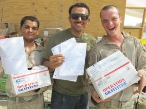 Marines Receive OpGrat Packages