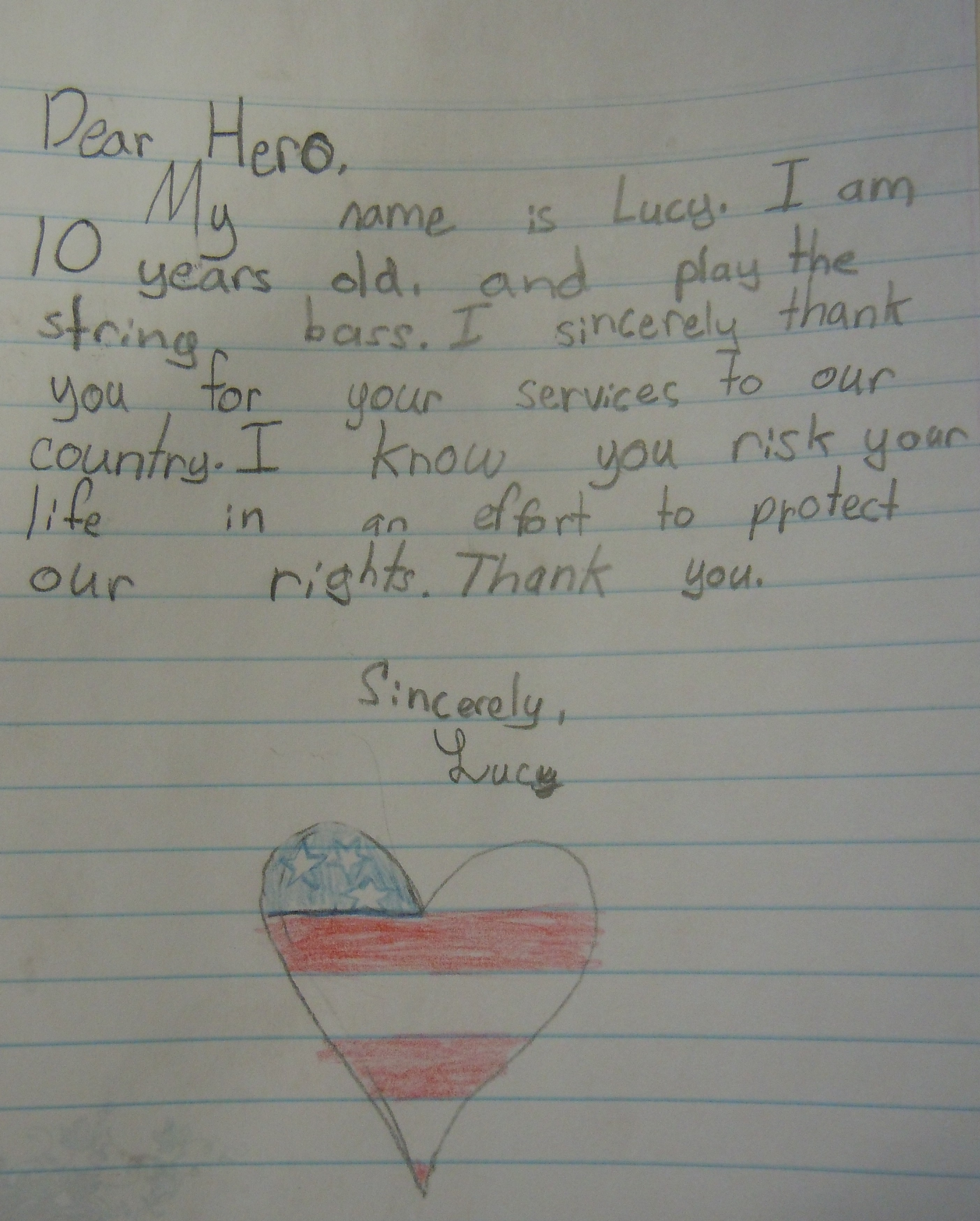 TearWorthy Thank You Notes To Soldiers  Written By Complete