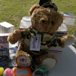 An Operation Gratitude Battalion Buddy Bear