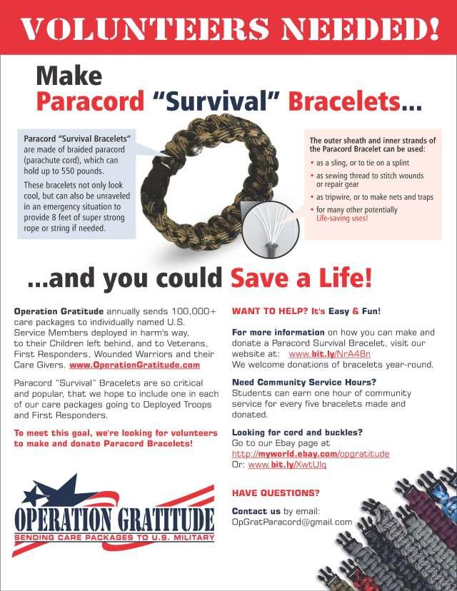 Paracord Survival Bracelets-5