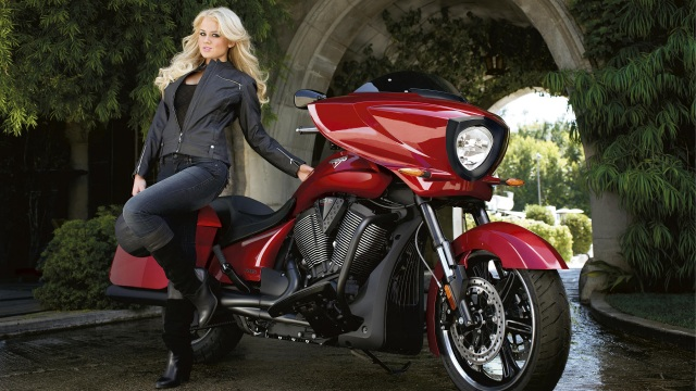 playboy victory cross country motorcycle