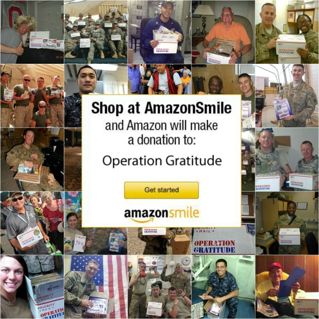 Amazon Smile Collage