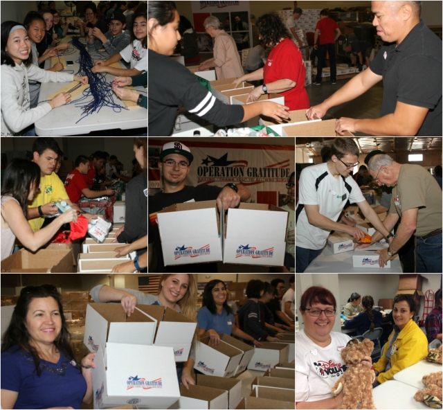 Operation Gratitude Volunteers