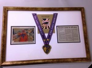 Framed Medal