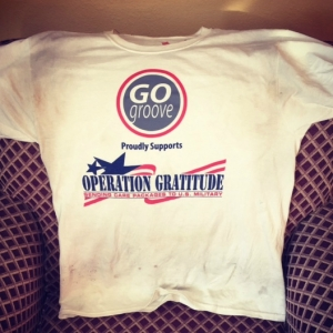 GOgroove Supports Operation Gratitude