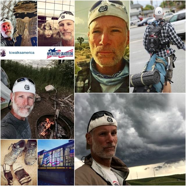 Tom Connolly Walks America