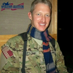 Scarves for Troops