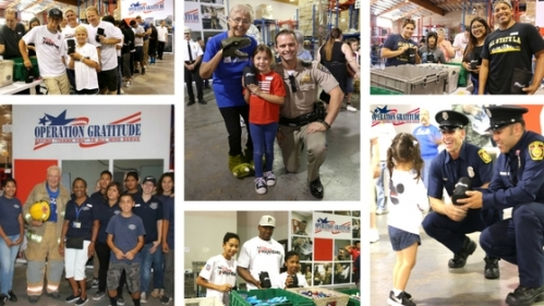 operation gratitude care kit event