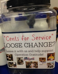 Cents for Service